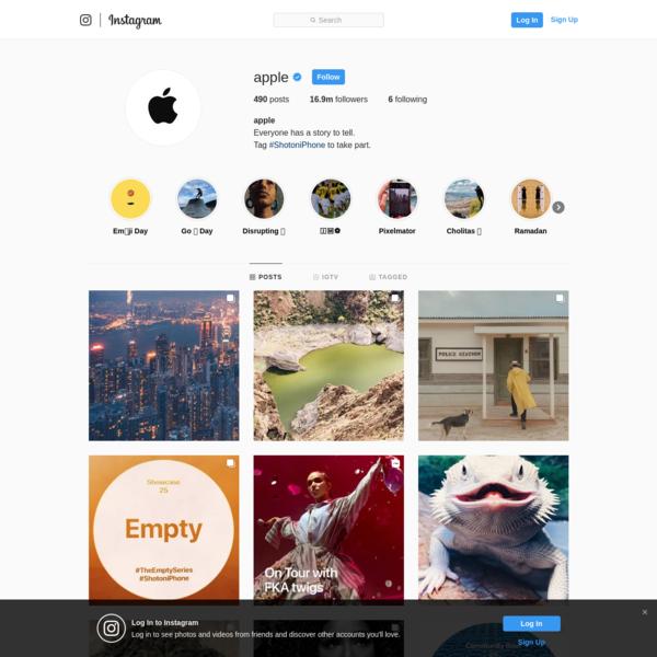 @apple • Instagram-Fotos und -Videos