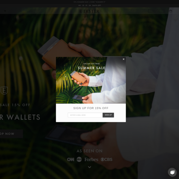 Ekster | Ultra-slim Smart Wallets
