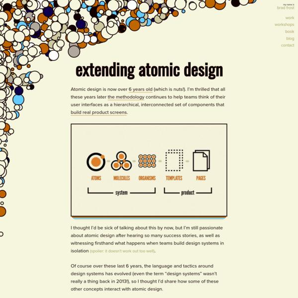 Extending Atomic Design