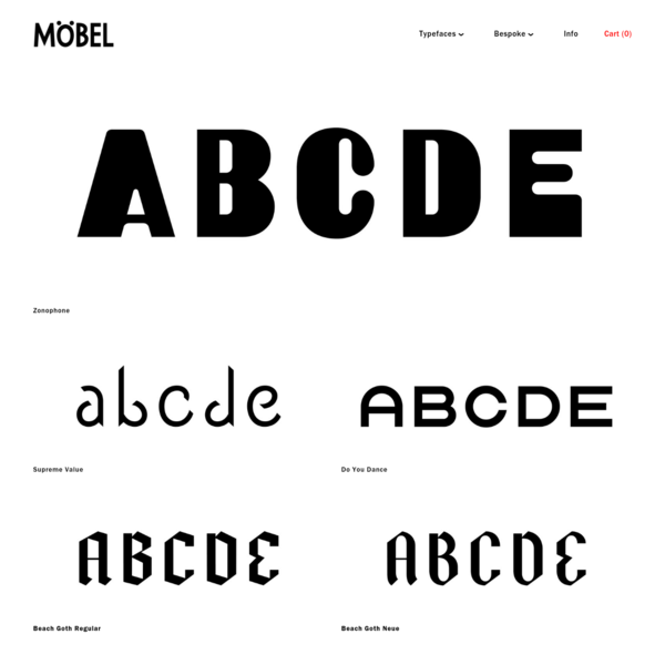 Möbel Type