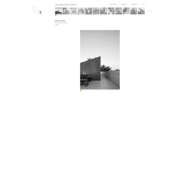 yh2 - yiacouvakis hamelin, architectes