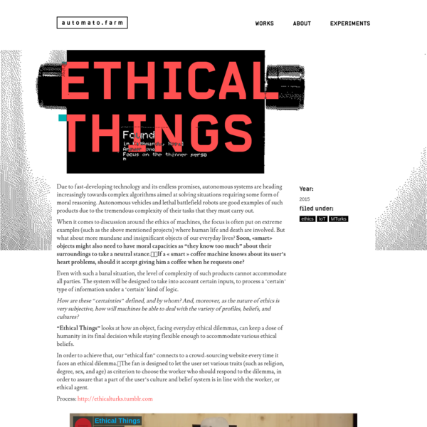 ethical things
