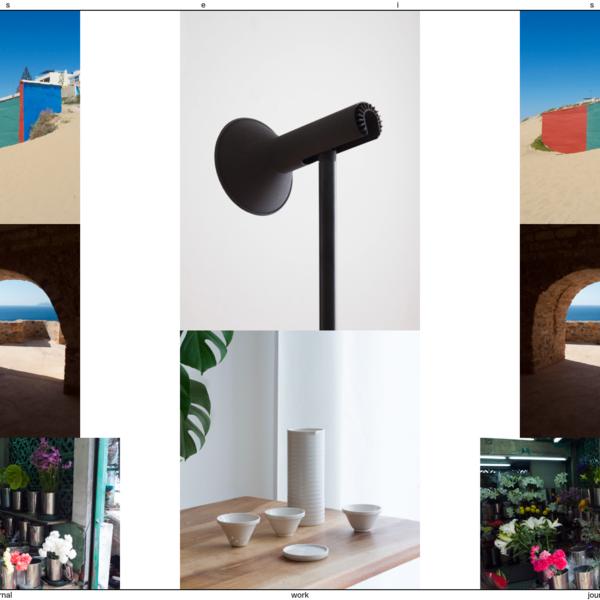 Sébastien El Idrissi Studio - A Swiss design studio that creates furniture, accessories and architectural interventions