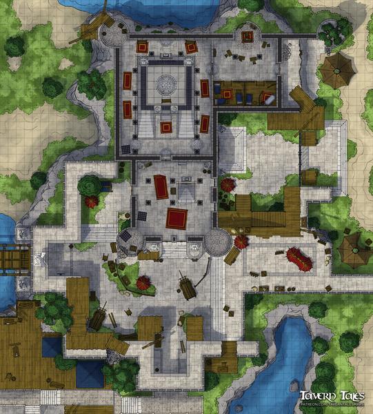 Fort Joy Courtyard & Keep