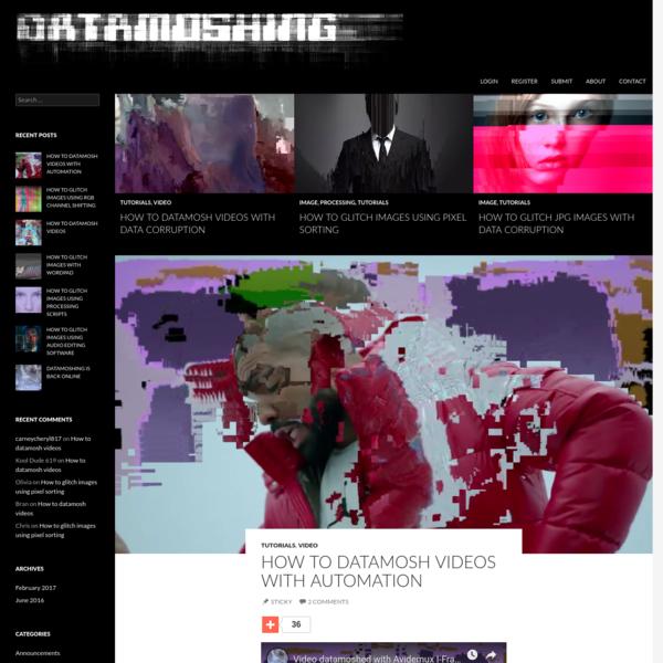 Datamoshing