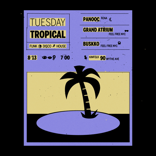 Tuesday Tropical #4 Poster