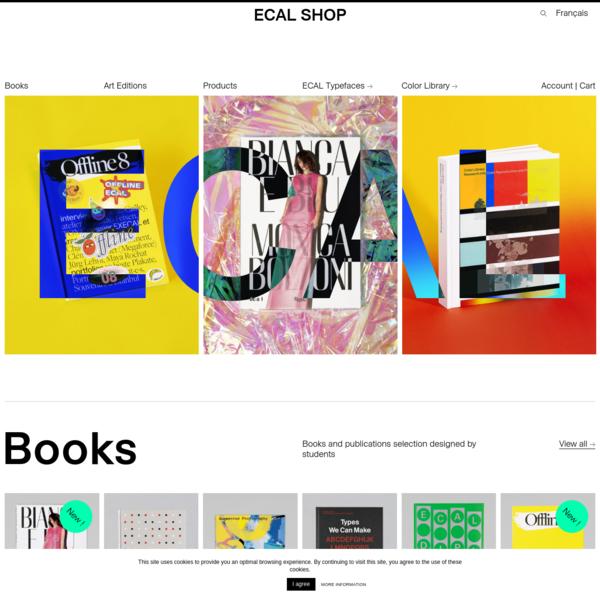 Accueil - ECAL Shop