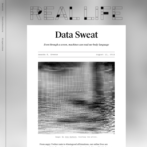 Data Sweat - Real Life