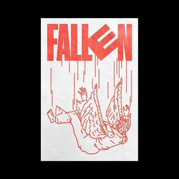 166 - Fallen . . . . . . #graphics #graphicdesign #thedesigntip #certainmagazine #digitalarchive #designarf #graphicindex #i...