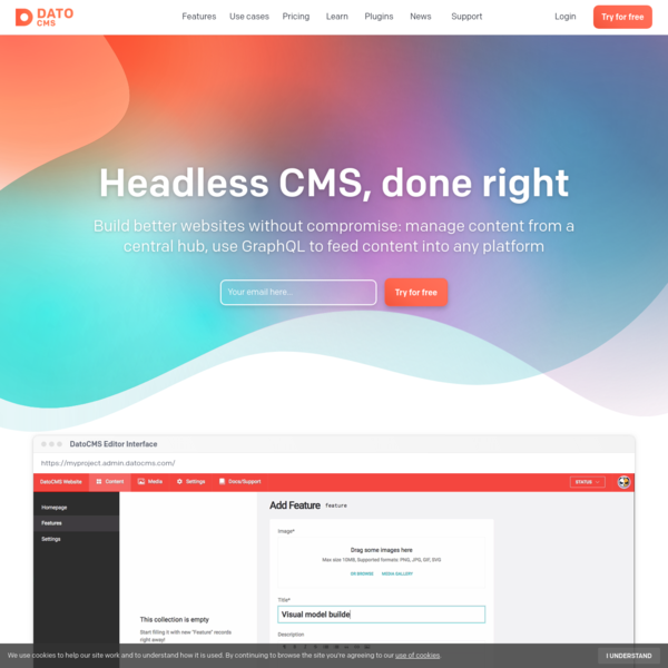 DatoCMS - Headless CMS, done right