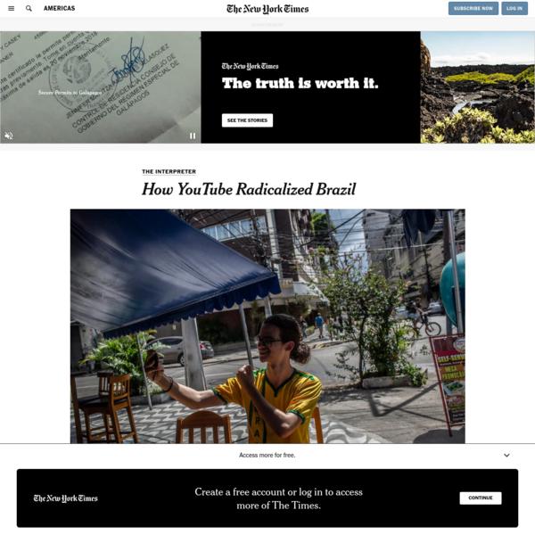 How YouTube Radicalized Brazil