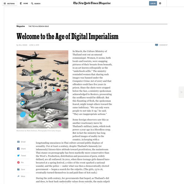 Welcome to the Age of Digital Imperialism