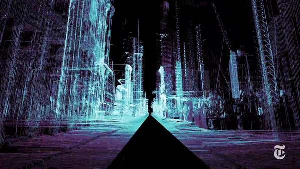 To see how driverless cars might perceive - and misperceive - the world, ScanLAB Projects drove a 3-D laser scanner through the streets of London.