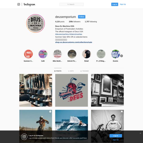 Deus Ex Machina USA (@deusemporium) * Instagram photos and videos