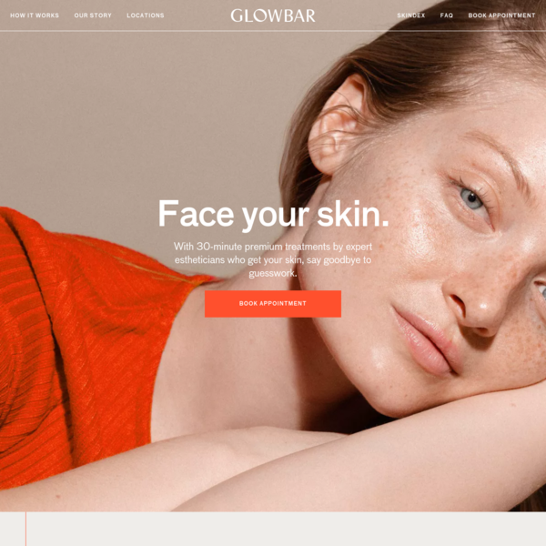 Glowbar | Face Your Skin in 30 Minutes