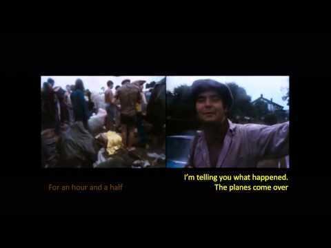 Chemtrails in movies III aka cloud seeding at Woodstock 1969