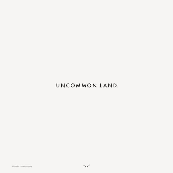 Uncommon Land
