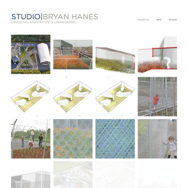 WORK - studio | bryan hanes