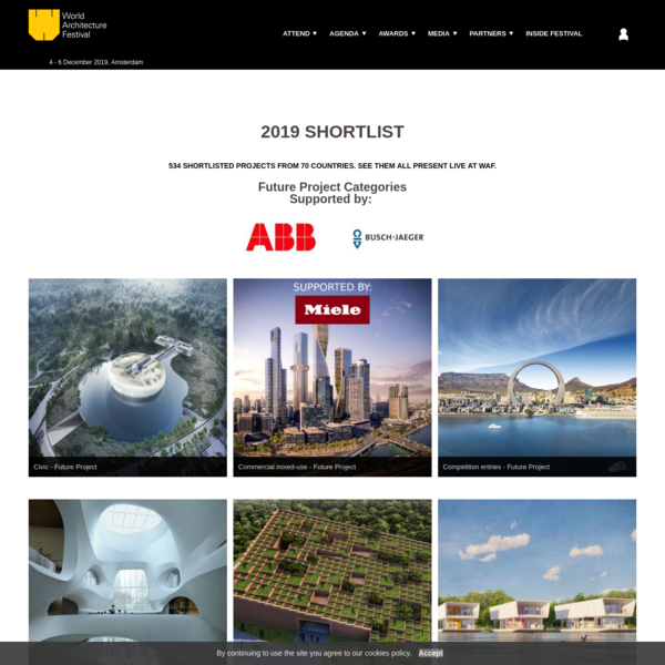 2019 Shortlist