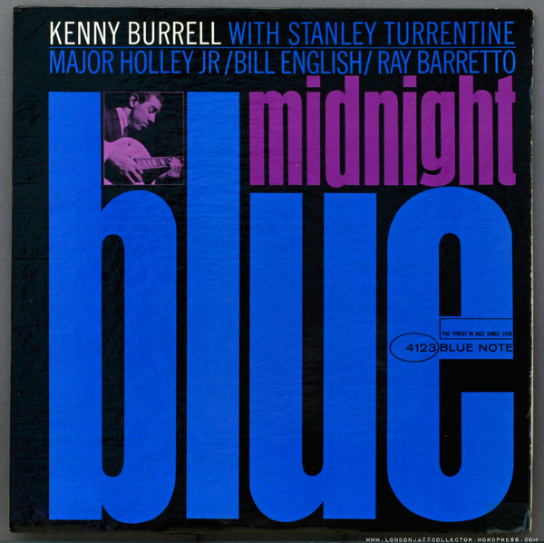 Kenny Burrell : Midnight Blue