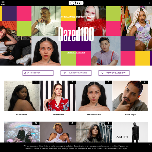 100 people you need to know in 2019   Dazed