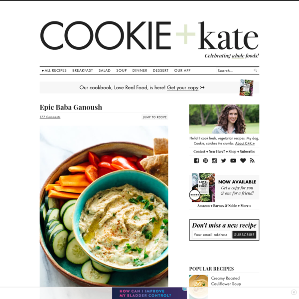 Epic Baba Ganoush Recipe - Cookie and Kate