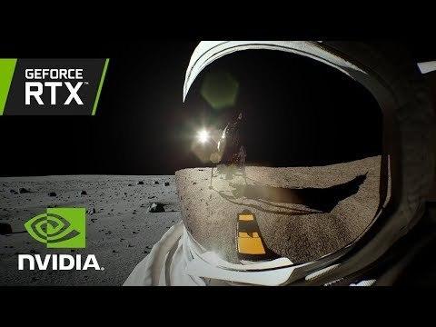 Lunar Landing: NVIDIA RTX Real-Time Ray Tracing Demo