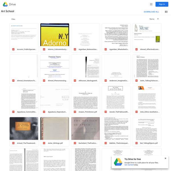 Art School - Google Drive
