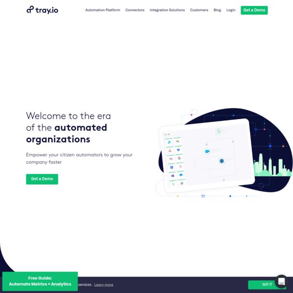 The Best API Integration Platform for Leading Enterprises | Tray.io