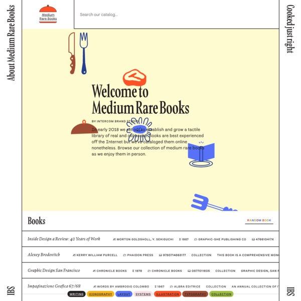 Medium Rare Books