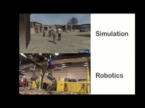 "Tune in to Digital Shoreditch Festival 2015 live. Simulation Singularity - when simulation faithfully mirrors the real world?? At the Technological Singularity it is claimed AI will match human intelligence. With the general advances in computing, AI, & games is there a similar ""Simulation Singularity"" when simulation faithfully mirrors the real world?"