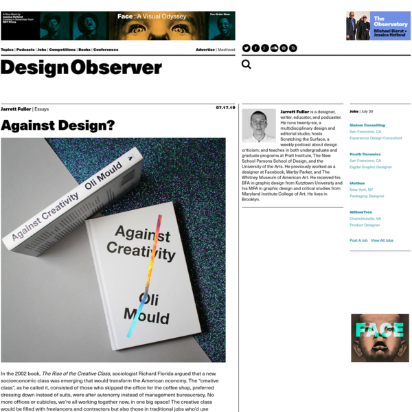 Against Design?