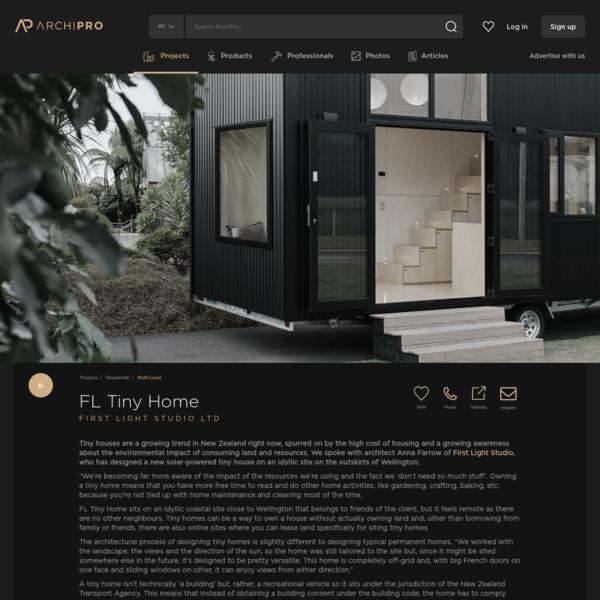 First Light Studio | Ohariu Tiny Home