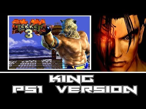 23. KING [PS1 VERSION] - TEKKEN 3: NEW GENERATION [1998] - EXTENDED