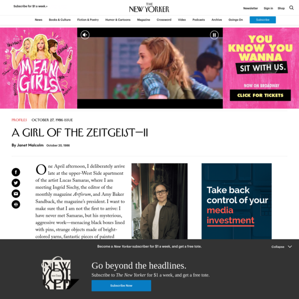 A Girl of the Zeitgeist—II | The New Yorker