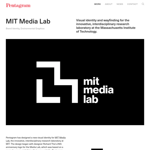 MIT Media Lab - Story - Pentagram