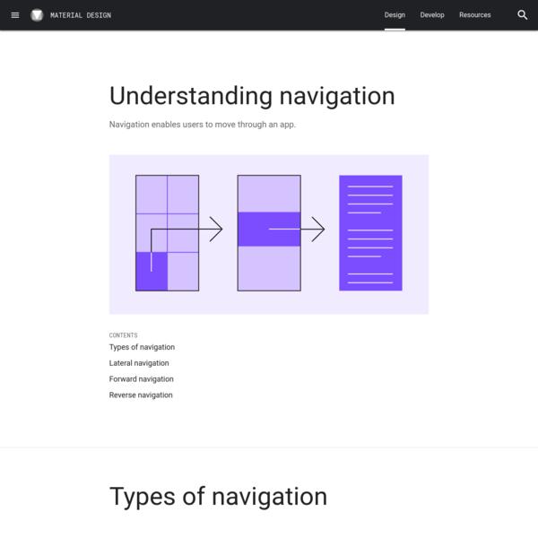 Understanding navigation
