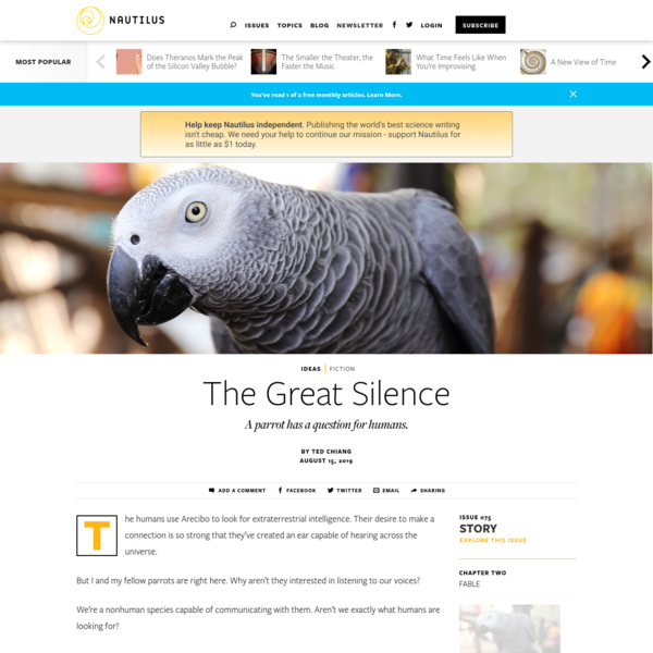 The Great Silence - Issue 75: Story - Nautilus