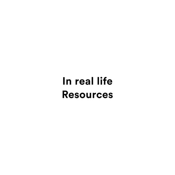In real life Resources - Studio Olafur Eliasson