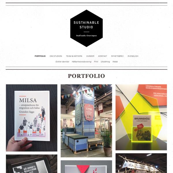 Portfolio - Sustainable Studio