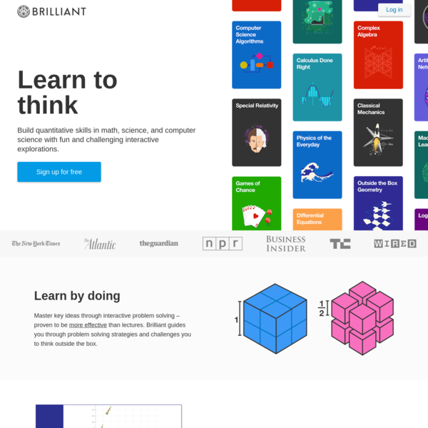 Brilliant | Learn to think
