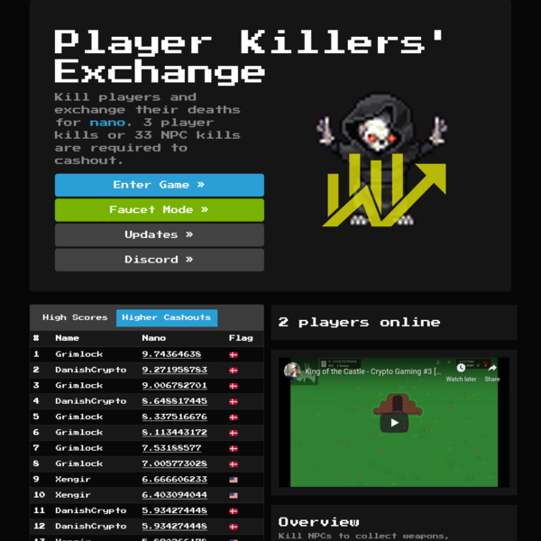 Player Killers' Exchange