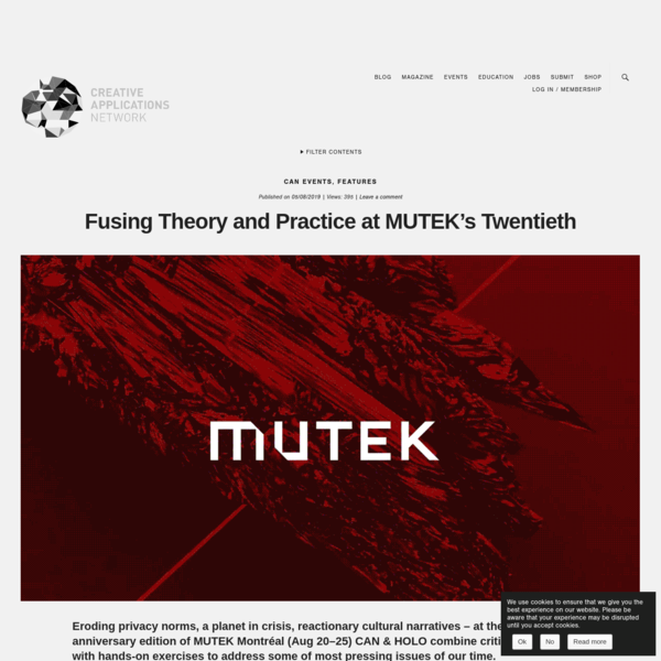 Fusing Theory and Practice at MUTEK's Twentieth
