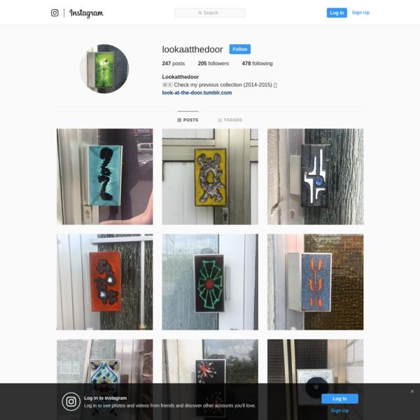 Lookatthedoor (@lookaatthedoor) * Instagram photos and videos