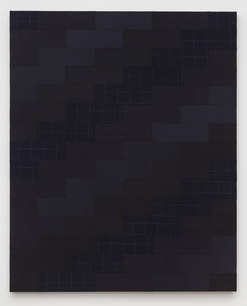 2015.11 Glen Fogel: Why Don't I . . . Pretend To Be Your Dad, Man Quilt #1 (Dad), 2015