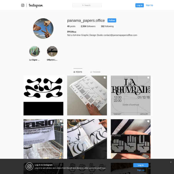 PPOffice (@panama_papers.office) * Instagram photos and videos