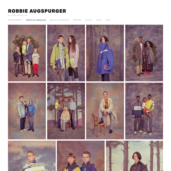 fashion & commercial - ROBBIE AUGSPURGER