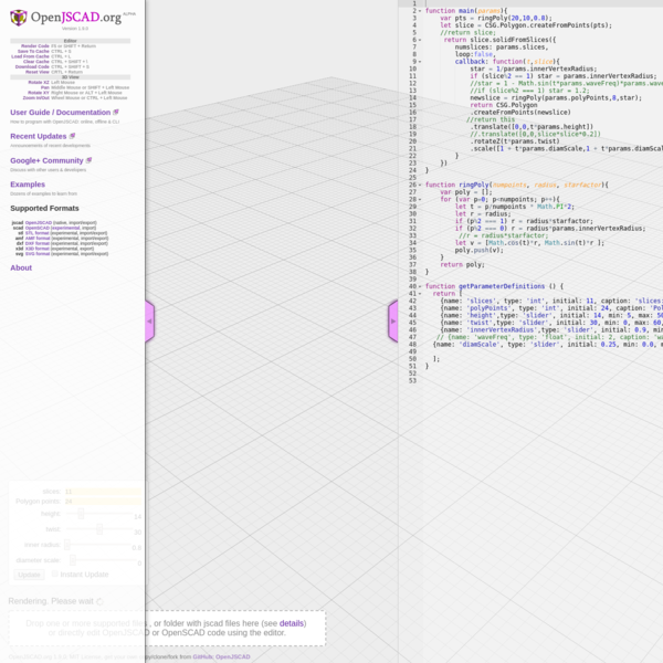 OpenJSCAD.org