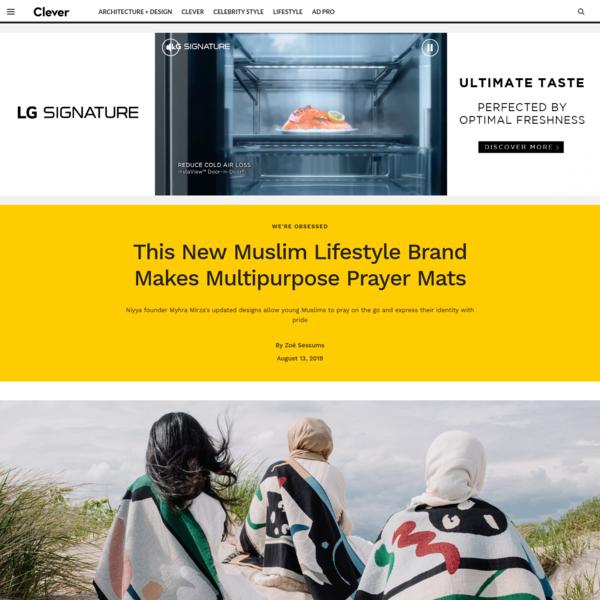 This New Muslim Lifestyle Brand Makes Multipurpose Prayer Mats