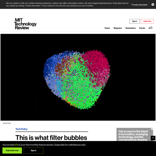 This is what filter bubbles actually look like